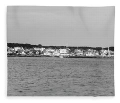 Coastline At Molle In Sweden Fleece Blanket