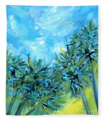 Collection Art  For Health And Life. Painting 10  Fleece Blanket