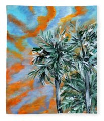 Collection. Art For Health And Life. Painting 2 Fleece Blanket