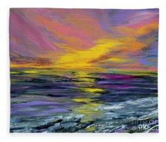 Collection Art For Health And Life. Painting 8 Fleece Blanket