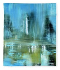 Original For Sale. Collection Art For Health And Life. Painting 9 Fleece Blanket