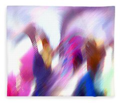 Color Dance Fleece Blanket