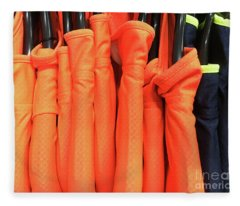 Colourful Sports Tops Fleece Blanket