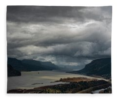 Columbia River Gorge Fleece Blanket