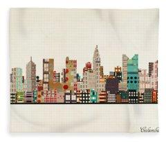 Columbus Fleece Blankets