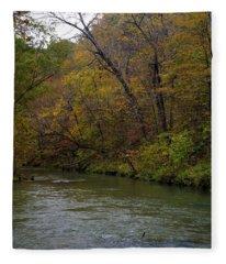 Current River 8 Fleece Blanket