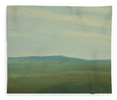 Dagrar Over Salenfjallen- Shifting Daylight Over Distant Horizon 5 Of 10_0029 91x61 Cm Fleece Blanket