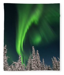 Dancing In The Night Fleece Blanket