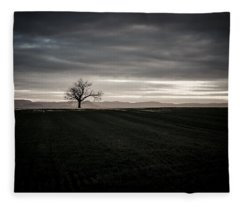Dark And Light Fleece Blanket