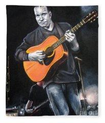 Dave Mathews Band Fleece Blanket