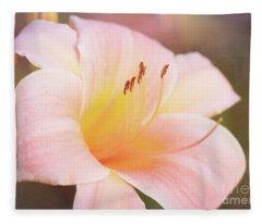 Delightful Daylily Fleece Blanket