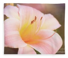 Delightful Daylily Fleece Blanket