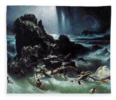 Deluge Fleece Blanket