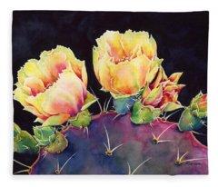 Desert Bloom 2 Fleece Blanket
