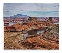 Desert Oasis Fleece Blanket
