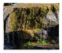 Desert Waterfall 2 Fleece Blanket