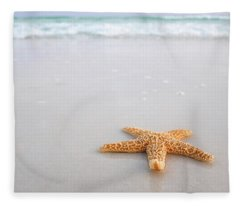 Destin Florida Miramar Beach Starfish Fleece Blanket