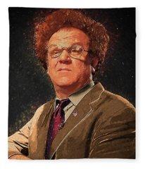 Mr. Cellophane Fleece Blankets