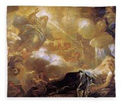 Dream Of Solomon Fleece Blanket