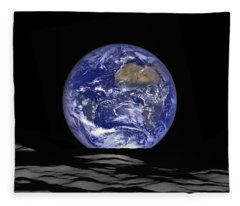 Earthrise Fleece Blanket