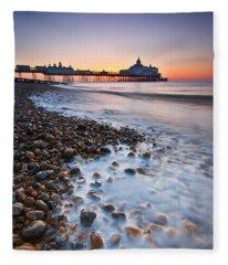 Eastbourne Sunrise Fleece Blanket