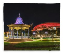 Elder Park Elegance Fleece Blanket