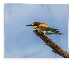 European Bee Eater Fleece Blanket
