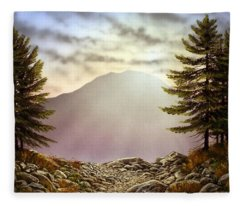 Evening Trail Fleece Blanket