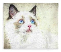 Ever Watchful Fleece Blanket
