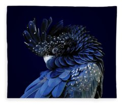 Fibonacci Cockatoo Fleece Blanket