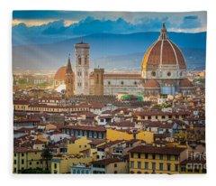 Firenze Duomo Fleece Blanket
