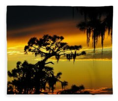 Pine Trees Fleece Blankets