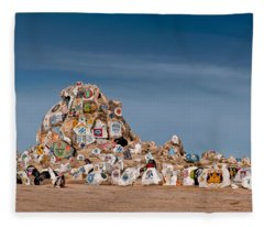 Fort Irwin Fleece Blanket