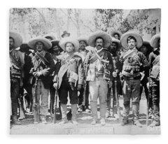 Francisco Pancho Villa Fleece Blanket