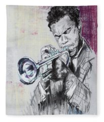 Freddie Hubbard Fleece Blanket