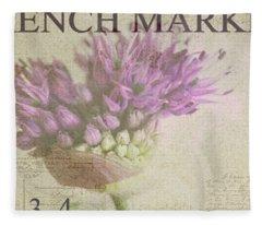 French Market Series G Fleece Blanket