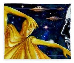 Galactic  Business Fleece Blanket