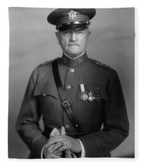 General John Pershing Fleece Blanket