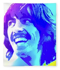 George Harrison Fleece Blanket