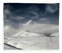 Glencoe Winter Landscape Fleece Blanket