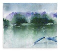 Gliding Fleece Blanket