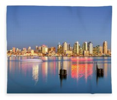 Golden City Fleece Blanket