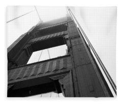Golden Gate Tower 2 Fleece Blanket