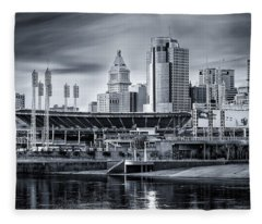 Great American Ball Park Fleece Blanket