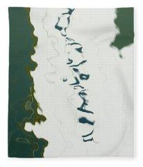 Sailboat Hull Fleece Blanket
