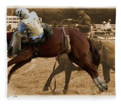 Helluva Rodeo-the Ride 6 Fleece Blanket