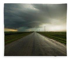 Highway To Hell  Fleece Blanket