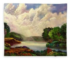 His Divine Creation Fleece Blanket