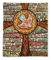 Holy Spirit Fleece Blankets