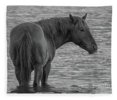 Horse 10 Fleece Blanket